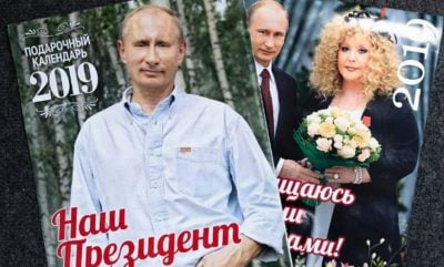 KALENDARI I VITIT 2019/ Vladimir Putin vjen me një pozë të ndryshme për çdo ditë  (FOTO)