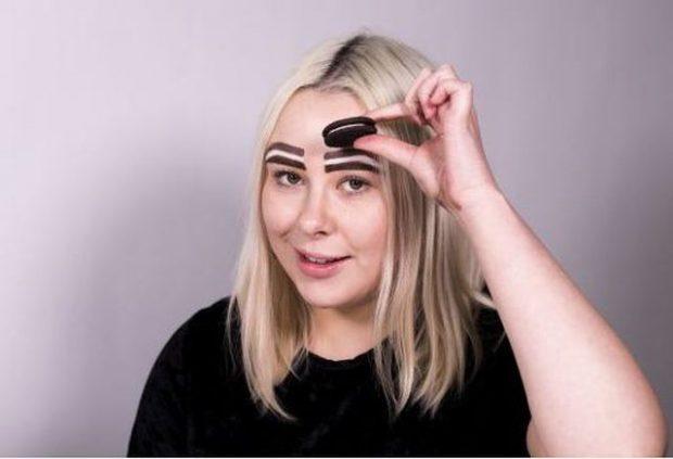 """VETULLAT """"OREO""""/ Trendi më """"i tmerrshëm"""" i make up- it"""