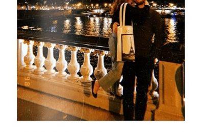 """""""ROMANCË PARISIENE""""/ Çifti i njohur shqiptar shfaqet i lumtur në kryeqytetin francez (FOTO)"""