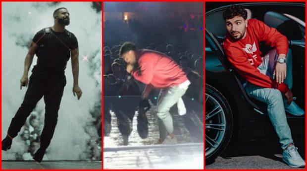 NJËSOJ SI LEDRIT/ Fansja i hedh Drake-ut reçipetat në skenë, por shihni si reagon reperi shqiptar (FOTO)