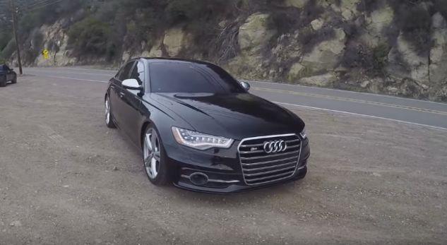 Kjo Audi S6 lë në baltë modelet më të mëdha (VIDEO)