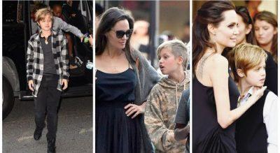 """""""NDIHEM SI DJALË""""/ Ja si duket vajza 12-vjeçare e Jolie dhe Pitt pas marrjes së hormoneve mashkullore (FOTO)"""