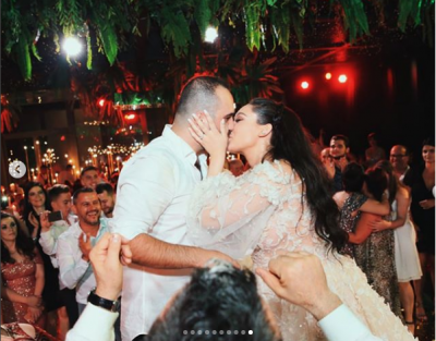 """""""TË KAM DASHUR NË FORMA TË PAFUNDME""""/ Jona Spahiu dedikim romantik bashkëshortit (FOTO)"""