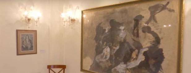 NIS JAVA E GJUHËS DHE KULTURËS ITALANE/ Ekspozohen 42 tablo të artistëve që studiuan në Itali (VIDEO)