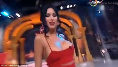 LA NAM / Prezantueses i del gjoksi live në emision.Video po çmend rrjetin