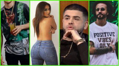 Reperi shqiptar publikon foton TOPLESS të Ronela Hajatit/ Noizy i bën komentin epik: Varrosi do të…