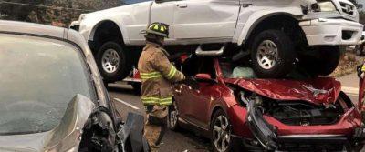 SHKËRMOQEN AUTOMJETET/ Rripi i sigurimit shpëton paq katër persona (FOTO)