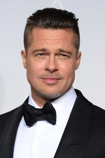 TAKIM ROMANTIK APO PUNË? Brad Pitt shihet me një bjonde misterioze dhe… (FOTO)