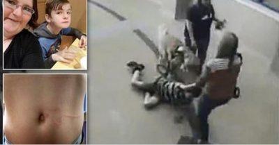 E TMERRSHME! Djali autik tërhiqet zvarrë në korridor nga stafi i shkollës (VIDEO)