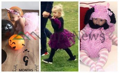 """SI FLUTUR DHE NJËBRIRËSH/ Si u maskuan Fëmijët e VIP-ave për """"Halloween"""" (FOTO)"""