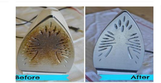 Shihni si të pastroni njollat e hekurit të hekurosjes