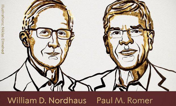 """""""Nobeli i Ekonomisë"""" për dy amerikanë/ Kanë thelluar fushën e analizës dhe ndërveprimin me natyrën"""