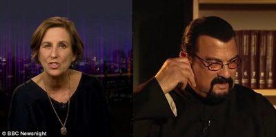 """E pyesin për akuzat për përdhunim/ Aktori njohur largohet në mes të intervistës së """"BBC"""" (VIDEO)"""