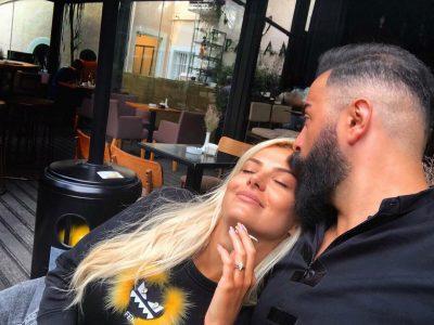 """""""ANA IME E BUKUR""""/ Getoari publikon foton me Marinën dhe i bën dedikimin romantik"""