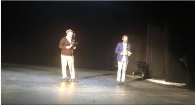 Ndahen çmimet për Festivalin Mbarëkombëtarë të Teatrove/ Triumfojnë  Altin Basha dhe Dino Mustafiq (FOTO)