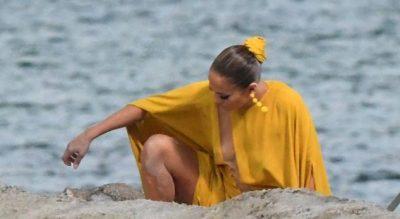 "GUXON TË DALI PA MBATHJE/ Jennifer Lopez ""çmend"" rrjetin (FOTO)"
