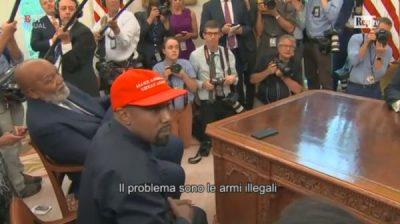 """KANYE WEST JEP """"SHOW"""" NË SHTËPINË E BARDHË/ Tregon mbështetjen për Trump: E dua këtë burrë (VIDEO)"""
