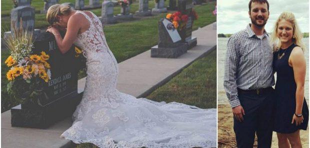 DASMA QË NUK U BË KURRË/ Veshi fustanin e bardhë dhe vrapoi pranë varrit të tij (FOTO)