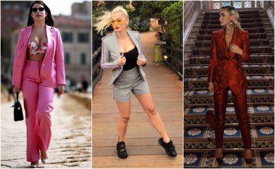 """""""XHAKETA DHE PANTALLONA OVERSIZE""""/ Vipa-t dhe kostumet """"Must have"""" të vjeshtës: Nga Armina tek…(FOTO)"""