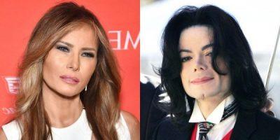 MELANIA TRUMP TËRHEQ VËMENDJEN/ Shfaqet njësoj si Michael Jackson (FOTO)