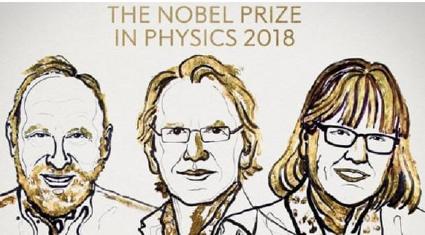 NOBELI NË FIZIKË 2018/ Çmimin e fitojnë tre shkencëtarë. Mes tyre një grua