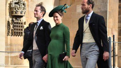 E PRANISHME NË DASMËN MBRETËRORE/ Pippa Middleton tregon barkun e rrumbullakosur (FOTO)