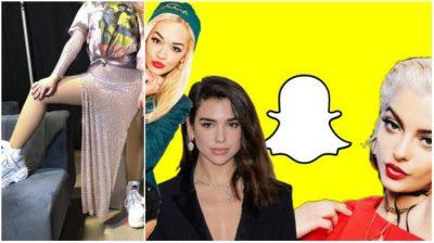 Snapchat i bën dhuratën këngëtares shqiptare/ Tani mund të pozoni me filtrin e hitit tuaj të preferuar (FOTO)