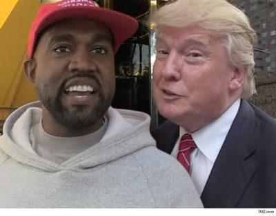 NGA GËZIMI/ Kanye West iu hodh në qafë Trump-it dhe ky përqafim nuk duhet humbur për asgjë në botë (FOTO)