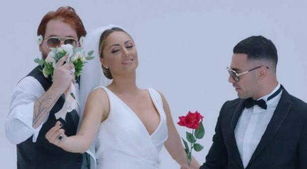 """""""ÇUNA DHE GOCA""""/ Publikohet kënga e re Robert Berishës, Kastro Zizos dhe Eneda Tarifës (VIDEO)"""