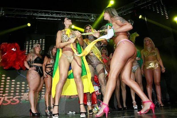 """""""UNË JAM 100 PËRQIND NATYRALE""""/ """"Plas"""" sherri mes konkurenteve të """"Miss Bumbum"""" (FOTO)"""