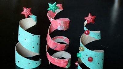ERDHËN FESTAT/ Si të bëni zbukurime me tubin e letrës higjenike (FOTO)