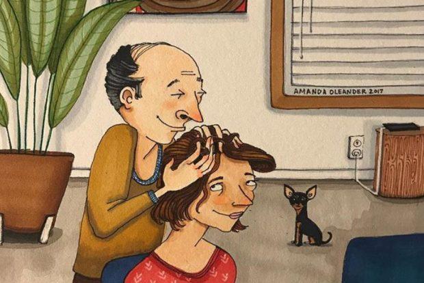 ANËT E ERRËTA TË MARRËDHËNIES NË ÇIFT/ Treguar në ilustrime zbavitëse (FOTO)