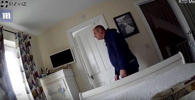 """IA LININ SHTËPINË TA RUANTE/ Fqinji i bën """"gjëmën"""" çiftit (VIDEO)"""