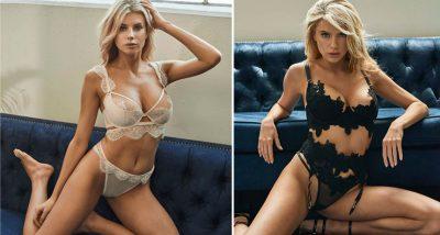 CHARLOTTE PREZANTON LINJËN E TË BRENDSHMEVE/ Duket super seksi me linjat e përsosura