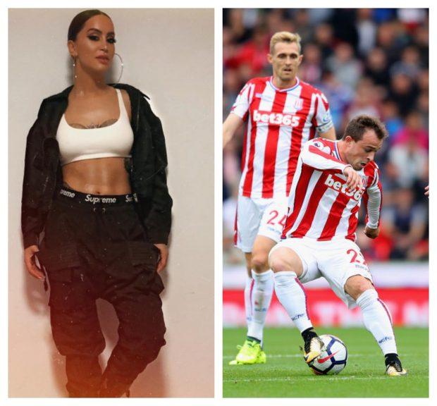 PASI I PROPOZOI AKTORI SEKSI/ Dafinës i shkruan futbollisti i famshëm por ajo ia la SEEN (FOTO)