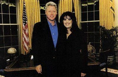 """""""Nuk e dija që më la njolla në fustan pasi e bëmë""""/ Lewinsky flet për herë të parë"""