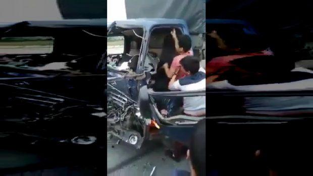 """""""FINAL DESTINATION"""" NË JETËN REALE/ Pëson dy aksidente në pak minuta (VIDEO)"""