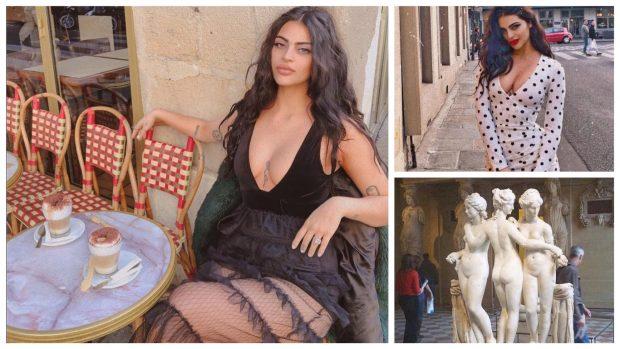 """""""MË PËRZUNË ME NEVERI""""/ Fustani ekstravagant ndalon yllin e Instagramit të hyjë në muze"""