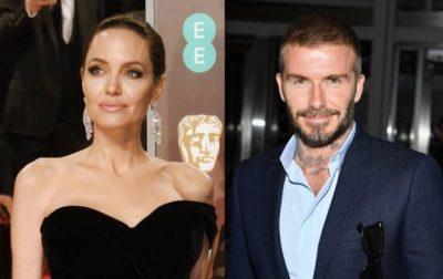 """""""GJITHMONË I KA PËLQYER""""/ Angelina Jolie po """"gjuan"""" David Beckham?"""