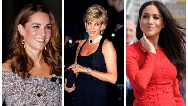 ASKUSH NUK E KISHTE VËNË RE/ Ja e përbashkëta që kanë në fytyrë Diana, Kate dhe Meghan (FOTO)