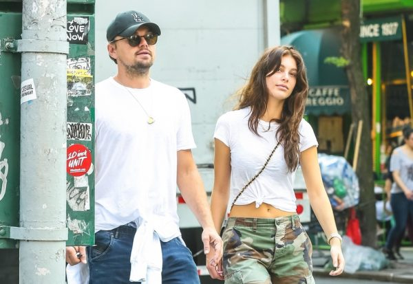 SPORTIV DHE TË QESHUR/ Leonardo DiCaprio fotografohet me të dashurën gjatë një dreke