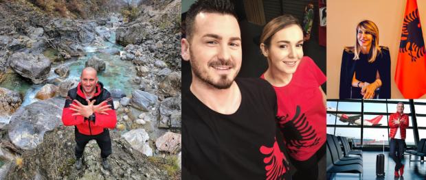 """""""DITA E FLAMURIT""""/ Urimet RRËNQETHËSE të VIP-ave shqiptare, ja si e uruan festën  (FOTO)"""