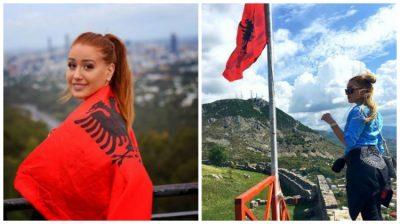 """""""DITA E FLAMURIT""""/ Kështu uron stërmbesa e Skënderbeut shqiptarët për festën e Pavarësisë (FOTO)"""