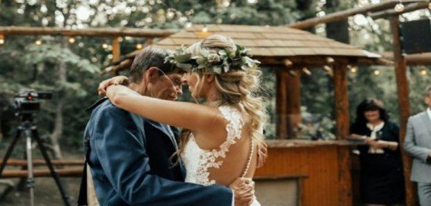 VIDEO PREKËSE/ Ja çfarë bën babai për vajzën ditën e martesës