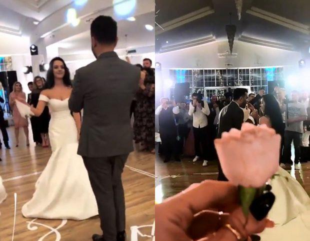 MODERATORI SHQIPTAR I JEP FUND BEQARISË/ Publikohen pamjet nga dasma plot me VIP-a (VIDEO)