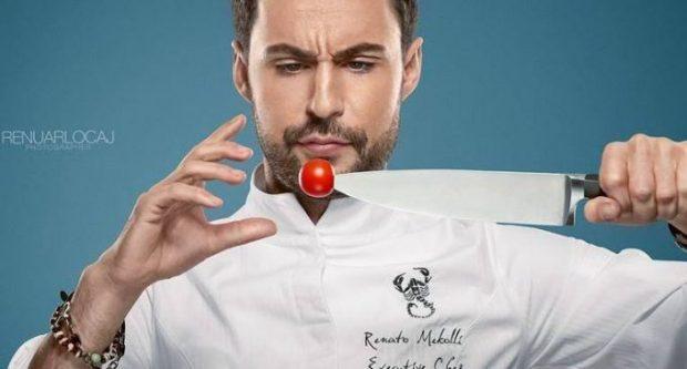 """""""DASHURIA NIS NGA DEBATI""""/ Renato Mekollit i ka rënë në kokë konkurentja e """"Hell's Kitchen"""" (VIDEO)"""