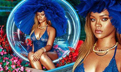 NJË MODELE SEKSI/ Rihanna përqëndrohet tek biznesi i saj dhe reklamon…