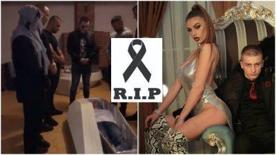 """""""RIP FERO""""/ Reperin e fusin në arkivol dhe publikon momenti i frikshëm (VIDEO)"""