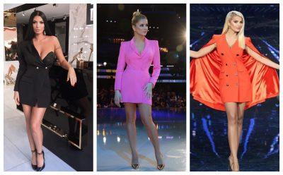 """MBETET NJË """"MUST HAVE"""" EDHE KËTË VIT/  Këto janë vipe-t që nuk hoqën dorë nga ky fustan (FOTO)"""