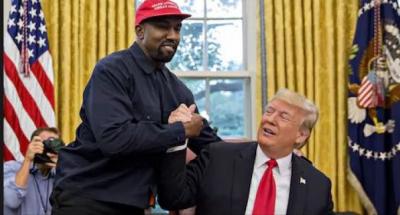 Reflekton Kanye West/ Reperi flet kundra Donald Trump: Jam përdorur nga…(FOTO)